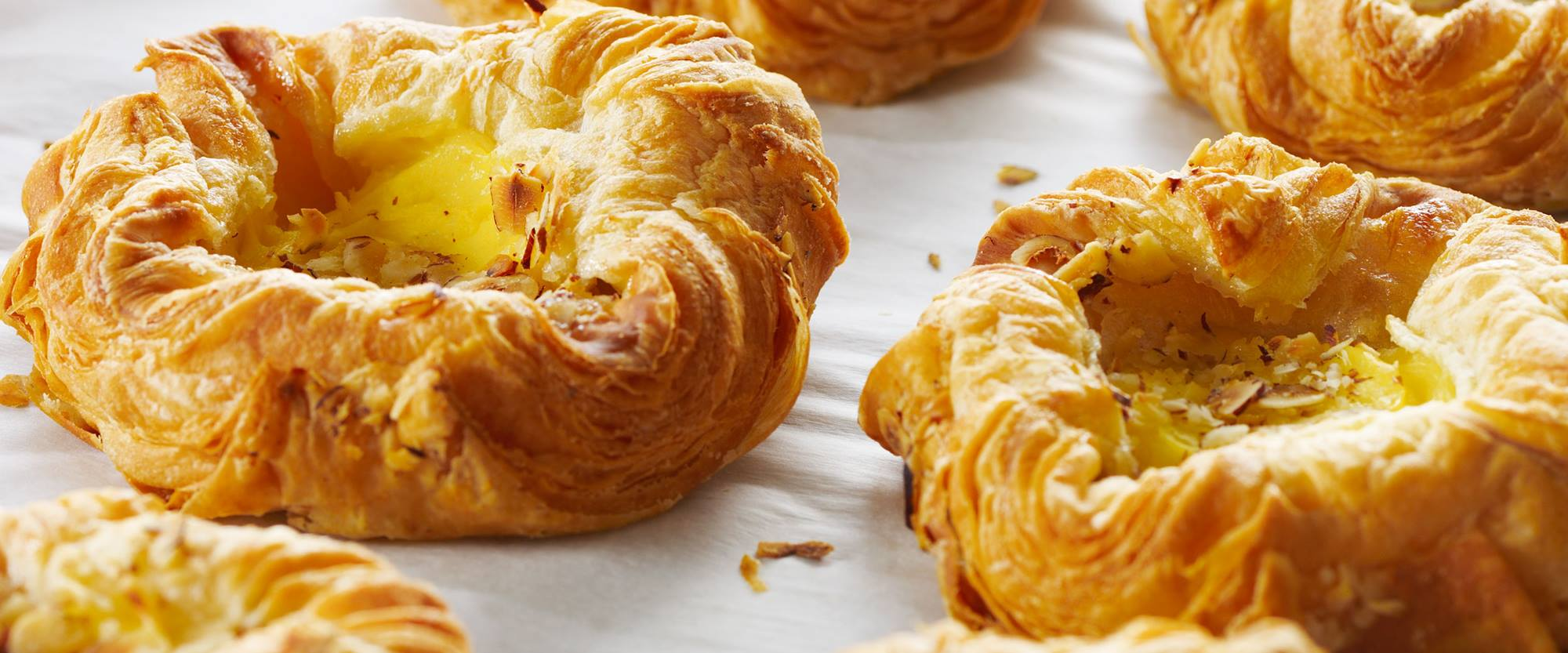 Nutrilac can enhance sweetness and improved lamination in Danish pastery