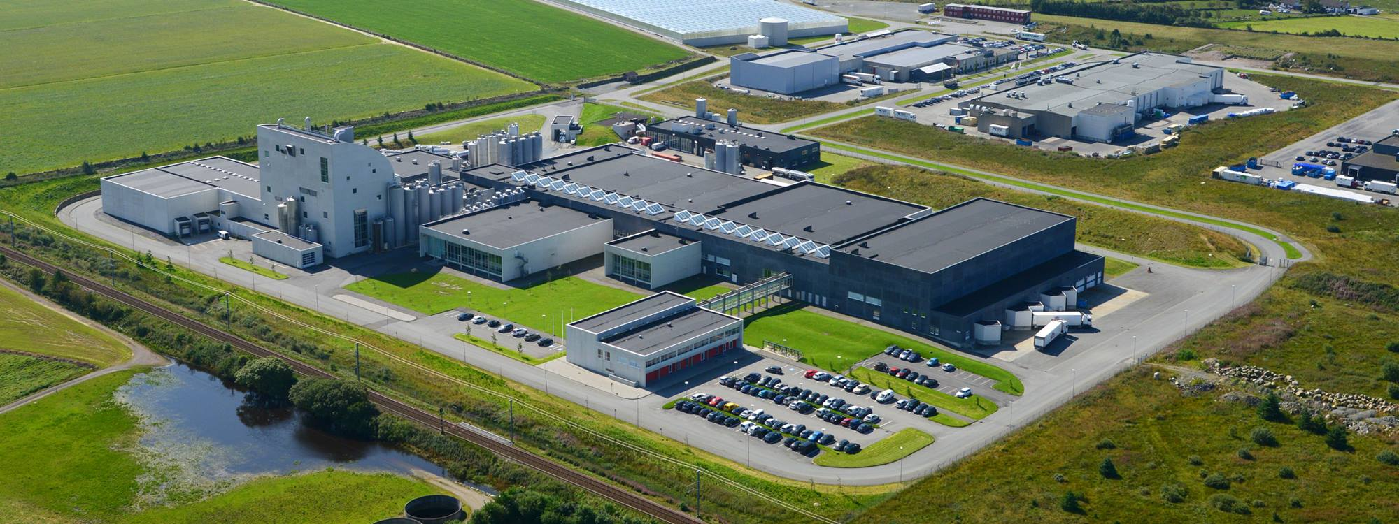 Tine Meieri production site in Norway