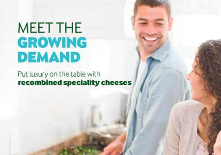 Meet the growing demand - recombined speciality cheees brochure